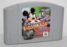 MICKEY NO RACING CHALLENGE USA GIOCO USATO NINTENDO 64 ED JAPAN NTSC/J 33285