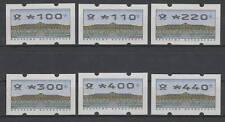 Bund ATM 2.2.3 VS 2 postfrisch 6 Werte komplett
