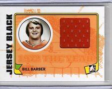 BILL BARBER 09/10 ITG 1972 Game-Used Philadelphia Flyers Jersey SP Vintage Card