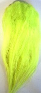 ICE FLIES. Icelandic sheep hair for fly tying, Lime green