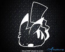 "Pokemon Pikachu 6"" Decal Sticker Cute Car Window Precision Cut Laptop Vinyl DMG"