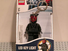 LEGO Star Wars LED Key Light Darth Maul Key Chain NEW MINT Flashlight Keychain