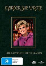 Murder, She Wrote: Season 5 (DVD, 6-Disc Set)  Region 4 - Very Good Condition