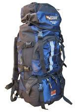 Travel Rucksack Bag Bergen Day Back Pack Backpack + Waterproof Rain Cover 65L