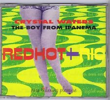 CD MAXI SINGLE 2 TITRES PROMO RED HOT+RIO CRYSTAL WATERS BOY FROM IPANEMA
