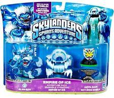 Skylanders Spyros Adventure Giants Slam Bam Empire of Ice Avil Rain Swap Force