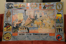 ACOA 75TH ANNIVERSARY - CAMPAIGNING IN THE PUBLIC INTEREST 1988 X -LARGE POSTER
