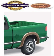 Bushwacker 41024-11 Rear Black Extend-A-Fender Style Flares for 94-03 Chevy S10