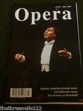 OPERA MAGAZINE - CLAUDIO ABBADO - JULY 1998