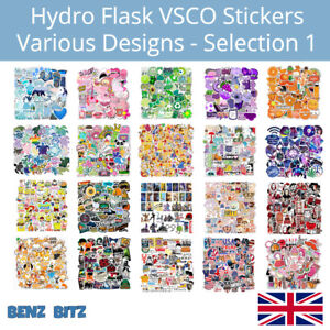 VSCO Sticker Bomb 50Pcs Decal Pack Vinyl Hydro Flask Laptop Skateboard Various 1