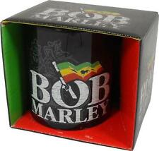 Bob Marley: Rasta Bandera Taza Café Cerámica / De Té - Nuevo Y Oficial En Caja