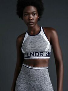 LNDR Sports Bra M/L Grey