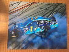 Ricky Stenhouse Jr Signed 8x10 Win Photo COA NASCAR Autograph