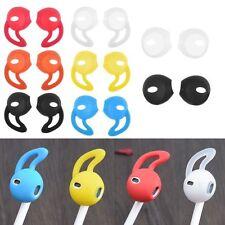 1Paar Silikon Ohreinsätze für iPhone 7/7 Plus ipad EarPods Kopfhörer Headset