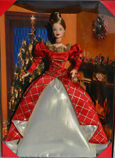 1999 Holiday Treasures Barbie Doll 1st in Series Barbie Collectors Club
