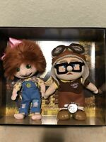D23 Expo 2019 Carl and Ellie Plush Set LE1000 Pixar Up With Exclusive D23 Pin