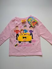 Wiggles / Long Sleeve Shirt / Girls.
