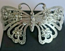 Hair Barrett Women's Accessories Large Butterfly Silver Like with With Crystals