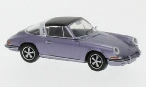 Porsche 911 F Targa, metallic-violett, 1:87, Brekina