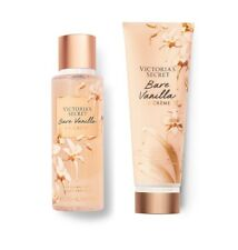 Victoria's Secret Bare Vanilla La Crème Fragrance Mist and Lotion Set