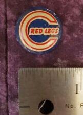 Vintage Undated Cincinnati Red Legs Baseball Pin Button