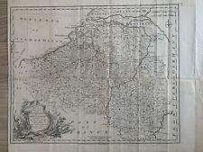 More details for 1744 austrian netherlands (belgium) original antique map by emanuel bowen