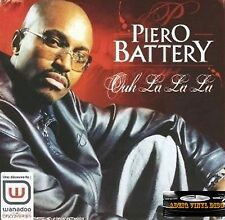 ♫ CD SINGLE PIERO BATERÍA - DE LA DE OOH LA LA ♫