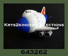 Jouet kinder Capsule Avion World Traveller 643262 Allemagne 2000