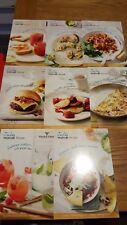 8 Waitrose recipe cards - all July 2016