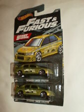 Hot Wheels 2019 Fast & Furious Mitsubishi Lancer Evolution Walmart Exclusive / 2