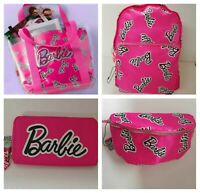 BARBIE Women's Pink Beach Shoulder Bag Girls Purse Bum Backpack Primark