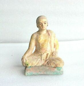 1900's Old Vintage Terracotta Clay Figure Antique Home Decor Collectible BR-53