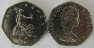 1969-1983 | Elizabeth II Fifty Pence | Choose Your Year | Free Post + Discounts