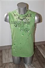 joli tee shirt débardeur vert homme JAPAN RAGS taille M  ** NEUF **