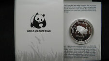 1987 Philippines 200 Piso Tamaraw Silver Proof coin in OGP
