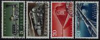 Svizzera - 1947 - Centenario delle Ferrovie - serie completa usata - n.441/444