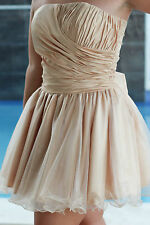 Polyester Ball Gown Above Knee, Mini Formal Dresses
