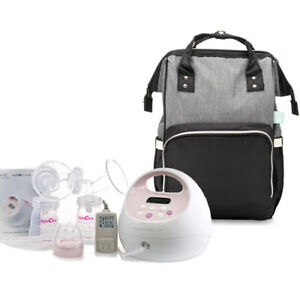 Spectra S2 Plus Electric Breast Pump and Black Sydney Backpack