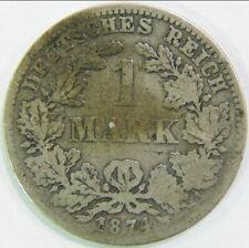 1 MARK 1874 C DEUTSCHES REICH