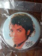 MICHAEL JACKSON 1980s THRILLER PIN BUTTON VINTAGE NIP