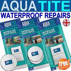 AQUATITE Waterproof Self Adhesive Tapes Patches Repair Rips Holes Tear Boot tent