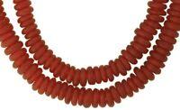 African Krobo trade beads powder glass recycled Ghana handmade translucent disks