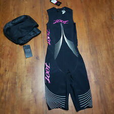 ZOOT - Women's XS Triathlon Wetsuit/Skinsuit Ultra Speedzoot 2.0 X-Small Black