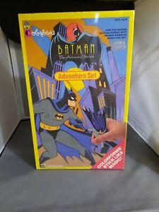 1993 Batman Animated Series Colorforms Adventure Play Set Vintage Sealed NIB