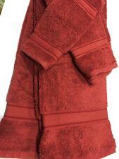 Panama Luxury Egyptian Cotton 4-Piece Towel Set Wine Soft Bath Wash Set
