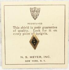 "WWII Sweetheart Navy ""USN"" Diamond pin"