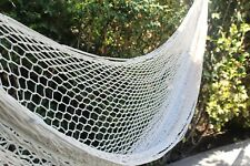 COTTON Handwoven Mexican Mayan QUEEN SIZE FAMILY Hammock
