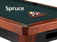 10' Simonis 860 Spruce Billiard Pool Table Cloth Felt