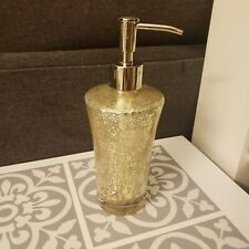 Mercury Glass Soap Dispenser