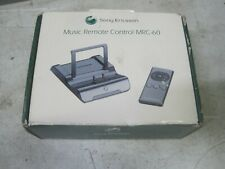 Genuine Sony Ericsson Mrc-60 Desktop Charging Dock With Remote Control Free Ship